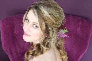 An example of wedding hair style and cut